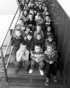 Los alumnos mas pequeños de la escuela de musica Hilarion eslava de Burlada