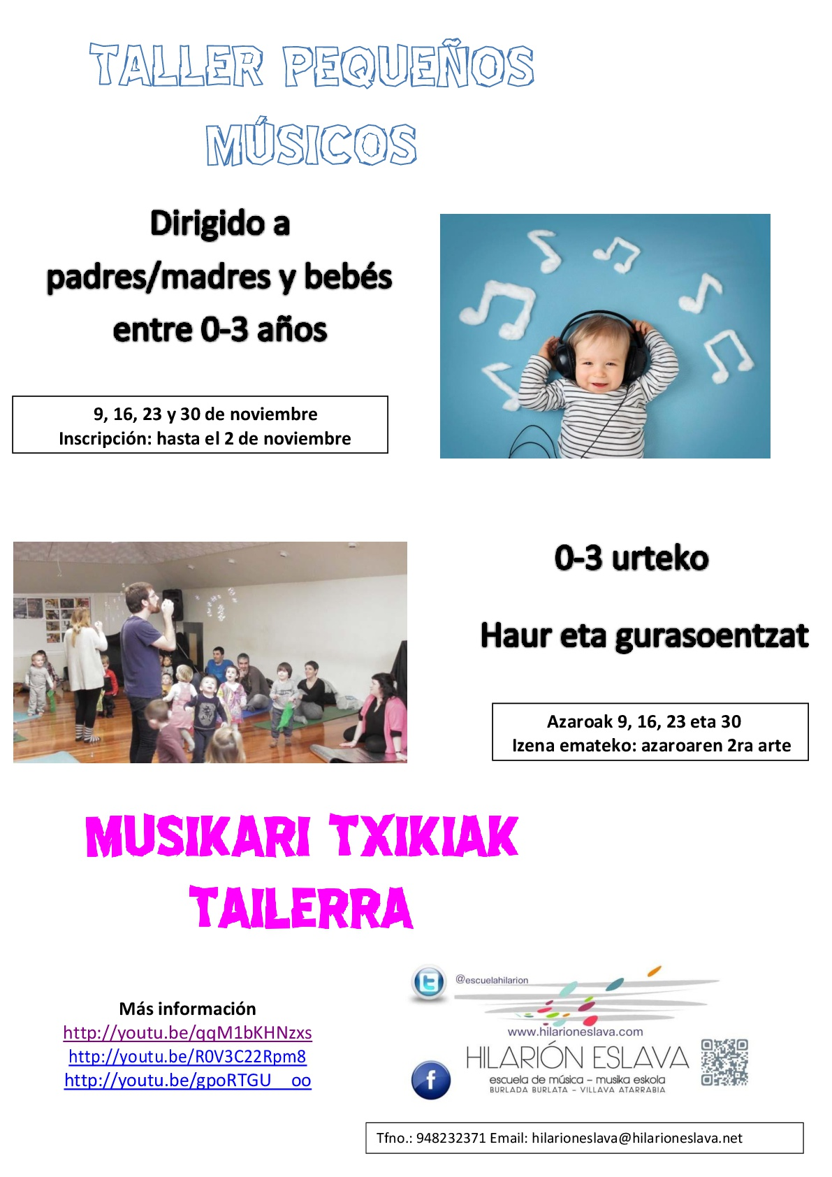 Taller pequeños musicos cartel publi-001